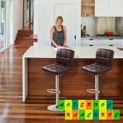 Высокие барные стулья отличное решение для дома и ресторана