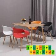 Сочетание разных стульев в интерьере
