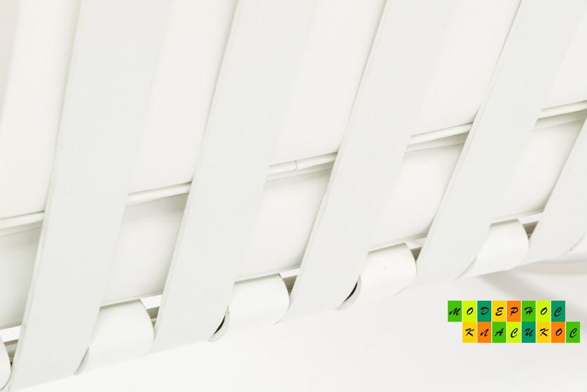 Диван Барселона, нержавеющая сталь, экокожа, цвет белый