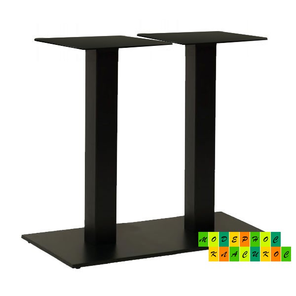 Подстолье Рона, металл, цвет черный, высота 72 см