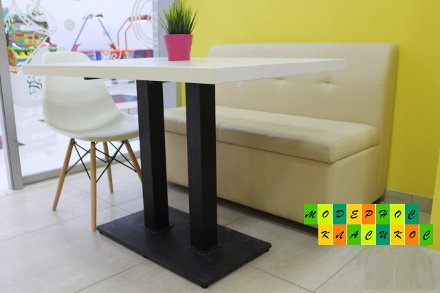 Стол Родас прямоугольный, 120*60 см, цвет белый