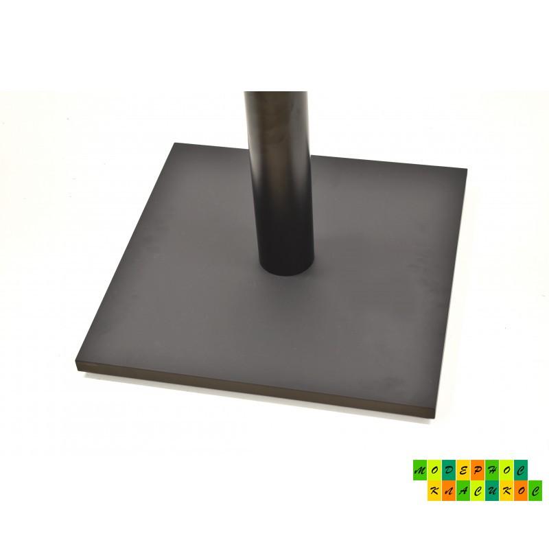 Подстолье Лена, металл, цвет черный, высота 72 см