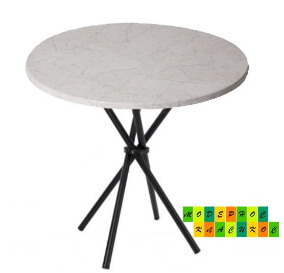 Стол Крос60W круглый, д. 60см