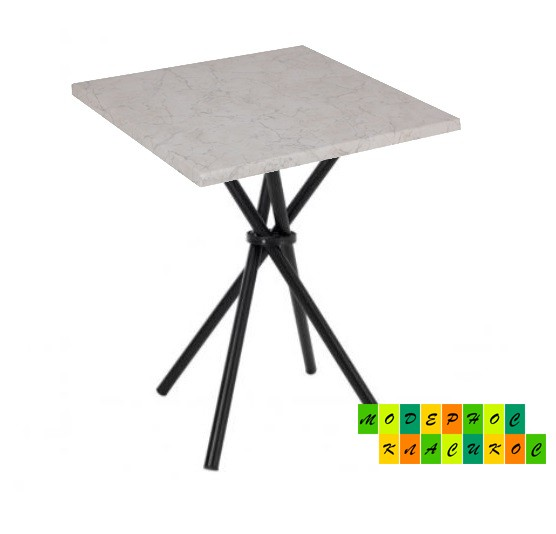 Стол Крос80SW квадратный 80*80 см