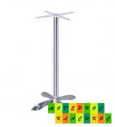 Подстолье алюминиевое, металлическое, высота 103 см