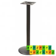 Подстолье Ока, металл, цвет черный, высота 110 см